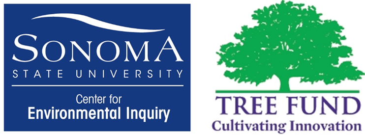 center for enviornmental inquiry logo and tree fund logo